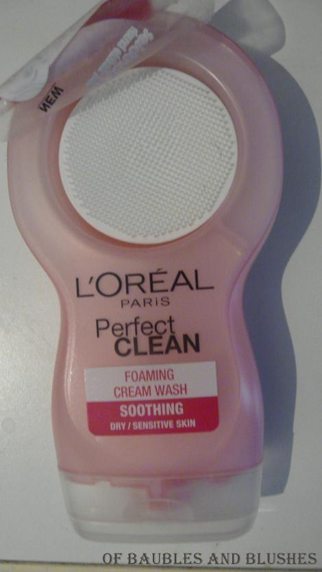L'Oreal Perfect Clean for sensitive skin
